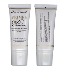 Wholesale Face Products - Two Faced Skin Smoothing Foundation Face Primer Moisturizering Oil free Nutritious Cream Brighten Natural Makeup Product 28g 1oz