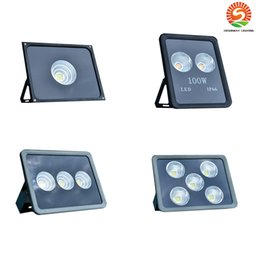 Wholesale Cob Floodlight - COB Led Floodlights Waterproof IP66 50W 100W 150W 200W 250W 300W 400W 500W 600W Led Outdoor Flood Lights Led Landscape Lighting AC 85-265V