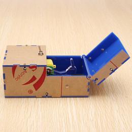 Wholesale Fun Office Gadgets - Useless Box DIY Kit Useless Machine Birthday Gift Toy Geek Gadget gags Joke Broad game Tricky toys Fun Office Home Desk Decor