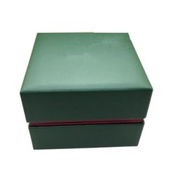 Wholesale Boarding Bag Sale - Hot Sale Luxury Original Watch Box Gift Display Boxes PU Leather medium fiber board,Complete set Watches box + English Instructions+Gift bag