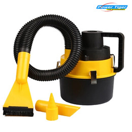 Wholesale Vacuum Cleaner Portable Handheld - Wholesale-Brand New DC12V 90W High Power Wet And Dry Portable Handheld Car Vacuum Cleaner Washer YF-002 Car Mini Dust Vacuum Cleaner