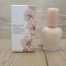 Wholesale primer face cream - in Stock !! Brand enamel paul&joe pj refreshing Faced foundation liquid Luminous Primer 30ml30ML