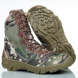 Bottes tactiques de sport armée de plein air hommes Camo hommes Combat désert chaussures en cuir bottes amateurs de la marine chaussures ? partir de fabricateur