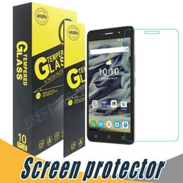 Wholesale Screen Protector For Alcatel - Anti Scratch Tempered Glass Screen Protector Film 9H 2.5D For Alcatel Fierce XL 5054 Pixi3 3.5 4.0 4.5 5.0 5.5 6.0 Pixi4 3.5 4.0