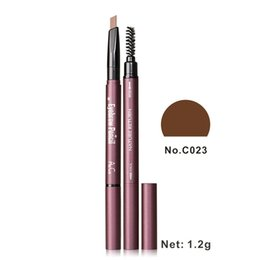 Wholesale Eyebrow Dye Black - Automatic rotary double headed thrush artifact waterproof anti sweat lasting no dizzy dyeing eyebrow pencil