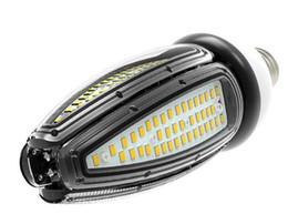 Wholesale Cfl Led - 2017 LED corn bulb lights 30w 40w 50w E26 E27 E39 E40 waterproof screw base high bay canopy light 50W 120Lm W lamp CFL HID AC100-277V bulbs