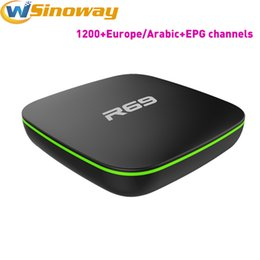 Wholesale Indian Free Channels - Arabic TV Box R69 Android4.1 Free Get Europe IPTV Indian Channels Such as Italian Germany English Canada France Netherlands Portugal IP TV