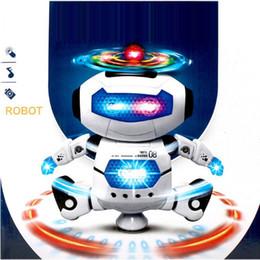 Intelligent Space Dancing Robot Humanoïde Jouet Avec Des Enfants Lumineux Pet Brinquedos Electronics Jouets Electronique pour Garçon Enfant ? partir de fabricateur