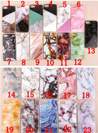 Wholesale Case Iphone Rocks - Fashion Ultra Thin Granite Marble Rock Stone Pattern Soft TPU Gel IMD Case for iPhone 5 5S SE 6 6S 6Plus 7 Plus