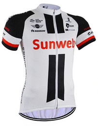 Wholesale Giant Cycling Jersey White - 2017 GIANT SUNWEB PRO TEAM 4 COLORS ONLY Short Sleeve Cycling Jersey Bicycle Wear Size XS-4XL A003
