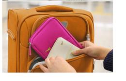 billige passbörsen Rabatt Reisepasshülle Brieftasche Travelus Multifunktions Kreditkarte Paket ID Halter Speicherorganisator Kupplung Geldbeutel