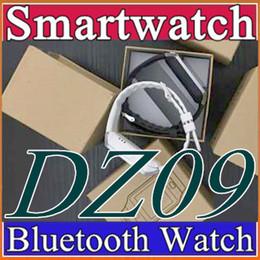 10X Smartwatch 2016 Последние DZ09 Bluetooth Смарт Часы с SIM-картой Для Samsung IOS Android Сотовый телефон 1,56-дюймовый Бесплатные DHL SmartWatches B-BS от Поставщики дюймы bluetooth умные часы