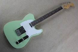 Wholesale Low Priced Electric Guitars - Limited - time discount 2017 Top Quality Lower Price TELE blue color Guitars Telecaster Electric Guitar in stock