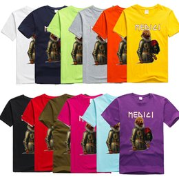 Wholesale Washing Collared Shirts - Best selling new fashion gorilla T-shirt in 2017, male and female cartoon cartoon T-shirt, O collar short sleeved shirt, funny T-shirt S-3XL