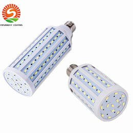 Wholesale Wholesale Pendants Lights - 2016 Super Bright 40W 50W 60W 80W 100W Led Bulbs E27 E40 SMD 5730 Led Corn Lights 360 Angle Led Pendant Lighting AC110-240V