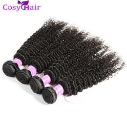 Wholesale Cheap Virgin Russian Hair - Hot Sale Peruvian Kinky Curly Unprocessed Curly Mixed Hair Weave Cheap Curly Human Weft Virgin Remy Hair Bundles Tangle Free