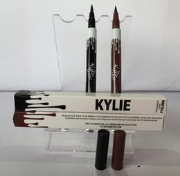 Wholesale Eyeliner Brown - New Arrive Kylie Long Lasting Eyeliner Waterproof Black Brown Eye Liner Kylie Pencil Eyeliner Kylie Jenner Cosmetics