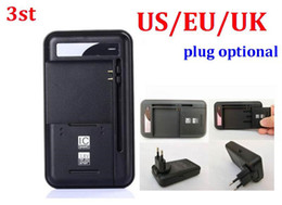 Wholesale Yiboyuan Battery Charger - 100pcs lot* 3st 2 in 1 Multi-functional Mobile Universal Battery Charger dock YIBOYUAN For Cell Phones USB-Port