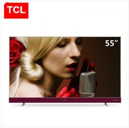 Lcd tv 32 online-TCL 55 pulgadas delgado 4K harman / kardon borde estrecho 32 nuclear Andrews TV LCD inteligente nuevos productos calientes envío gratis
