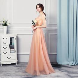 Wholesale Elegant Rhinestone Dresses - Elegant Gowns Vestidos Para Festa 2017 Off the Shoulders Cheap Long Evening Dresses with Rhinestones Prom Gowns