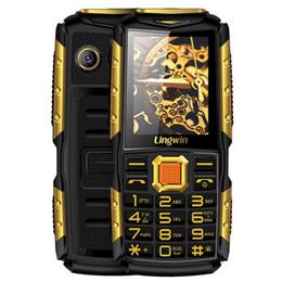 Wholesale Quad Band Mobile Unlocked - Lingwin N2 Quad Band Unlock Phone 2.4 inch Flashlight 3100mAh Power Bank Function Dustproof FM MP3 Mobile Cellphone