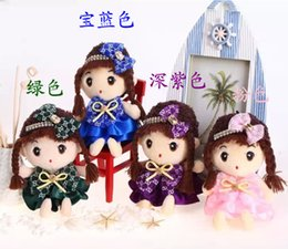 Wholesale red clay pottery - The new listing 18 cm and girl lovely high-grade fe son baby doll ever and plush toys