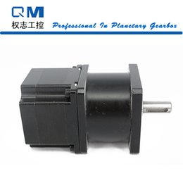 Wholesale Reducer Motor - High precise planetary gearbox ratio 5:1 reducer with nema 23 stepper motor L=42mm 3.0A