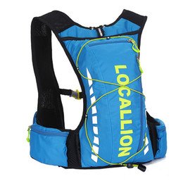 Wholesale Waterproof Bag 2l - Wholesale- Small 10L Ultralight Waterproof Runnings Cycle Hydration Backpack for Bicycle Back Packs Bags (Optional 2L TPU Water Bladder)