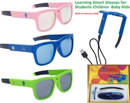 Wholesale Reading Glasses For Kids - NEW Smart glasses Kids Glasses Reading Glasses samll cameraman for school students children Kids