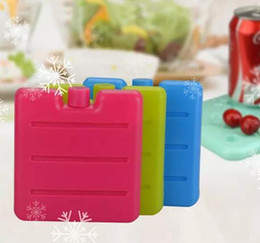 Wholesale Freezer Packaging - Lunch Ice Packs Reusable Cool Coolers Slim Icy Package Lunch Freezer Pack for Kids Child Keep Food Fresh Cold