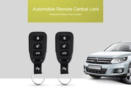 Wholesale Keyless Remote Control Case - Universal 10 - 14V LB - 501 L240 Car Vehicle Key Shell Case Remote Control Central Lock Keyless Entry System Power Window Switch 192839401
