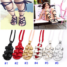 Wholesale Wholesale Leather Roman Sandals - 2017 New Baby INS Genuine Cow Leather Moccasins shoes Soft bottom infant Roman sandals newborn baby Cross-tied First Walking Shoes B001
