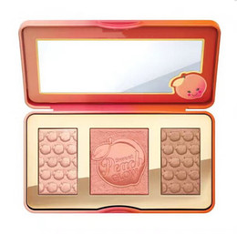 oil free makeup Promo Codes - Free Shipping ePacket! makeup Sweet Peach Glow infused Bronzers & Highlighters blush palette