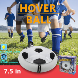 """Wholesale Disk Ball - Lighted hover ball Electric Training Football Indoor Air Power Soccer Disk Football Foam Bumpers and Light Up LED Lights 7.5"""" Kids toys"""