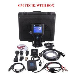 Wholesale Gm Opel - 2017 GM TECH2 diagnostic tool (GM,OPEL,SAAB ISUZU,SUZUKI HOLDEN) Vetronix GM tech 2 scanner Free Shipping