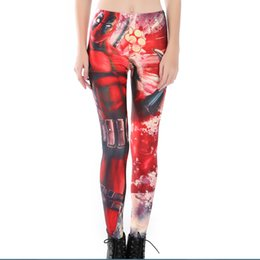Wholesale Anime Leggings - Womens Anime 3D Digital Print Casual Fitness Slim Leggings For Female Plus Size Bodycon Skinny Pencil Pants 4XL Drop Shipping