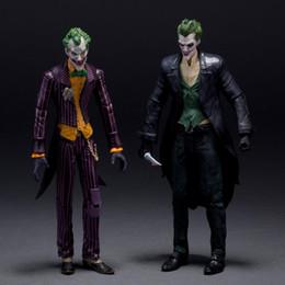 """Wholesale Arkham Origins - DC Batman The Joker Arkham Origins PVC Action Figure Collectible Model Toys 7"""" 18CM KT107"""