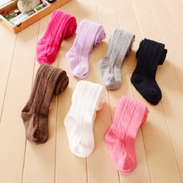 Wholesale Style Underpants Pants Girls - Footcover Baby Girls Underpants Baby Boys Tights Children Pantyhose Newborn Leg Warmers Bebe PP Pants Stockings Bottom Pant Leggings