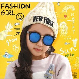 Wholesale Cool Style Child - Fashion Cool Style Children Summer Sunglasses Goggles Kids UV Protection Eyewear Childs Coloful Beach Glasses Sunglasses Boys girls A131
