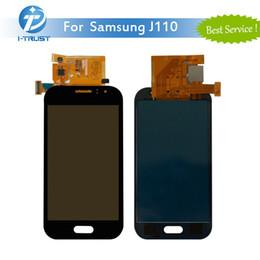 Wholesale Ace Good - For Galaxy J1 Ace J110 LCD Display High Quality Touch Screen Digitizer For Galaxy J110H J110F Good Repair Replacement With Free DHL Shipping