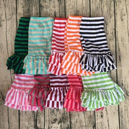 Wholesale Double Ruffled Shorts - Mutiple Colors Double Ruffle Style Girls Shorts Little Girl Comfertable Breathable Clothes