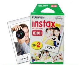 Wholesale Instax Films - High quality Instax White Film Intax For Mini 90 8 25 7S 50s Polaroid Instant Camera in stock