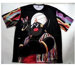 Wholesale Unisex Clothes Plus Size - Real USA Size custom made Mister Po x Biggie 3D Sublimation print T-Shirt unisex clothing