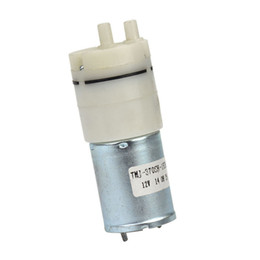 Wholesale High Pressure Vacuum Pump - Brand new 1pcs Micro Vacuum Pump DC 12V Mini Air Pumps Pressure Dual Pumpping Vacuumpomp Free Shipping