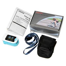 Wholesale Meter Blood - CMS50N CONTEC Finger Fingertip Blood Oxygen Meter Pulse Heart Rate Monitor Oximeter SPO2 OLED FREE SHIPPING