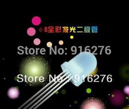 rgb perlen Rabatt 100 teile / los 8mm 4 pin farbenreiche RGB LED licht perlen für WS2811 WS2812B WS2801 LPD8806 1903 etc led pixel modul,