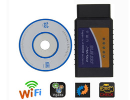 Wholesale Wireless Obd Scanner - Wifi elm327 obd2 wireless auto scanner adapter scan tool voor iphone ipad ipod elm327 obd 2 auto scan Android IOS