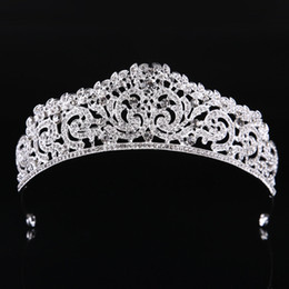 Wholesale Jewelry For Prom - New Fashion High Quality Exquisite Crystal Bridal Crown 2017 For Women Pageant Prom Tiaras Hair Jewelry Accessories Headdress