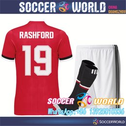 Wholesale New season POGBA MATA LUKAKU BLIND RASHFORD MKHITARYAN VALENCIA soccer jerseys