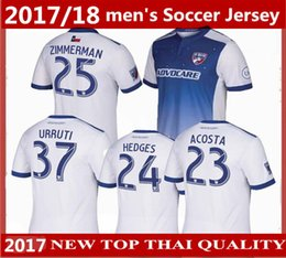 Wholesale Thai Quality Free Shipping - NEW 2017 MLS Dallas Burn Away soccer jersey 17 18 Thai quality FC Dallas Burn football shirt soccER uniform FREE Ship